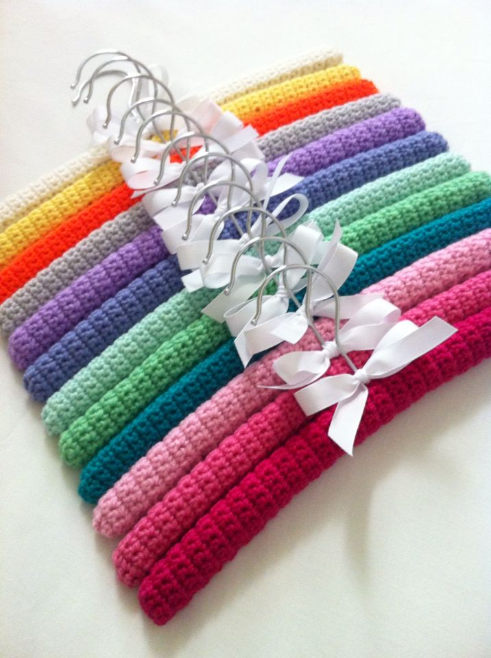 Knitting Coat Hanger Covers : Images about crochet on pinterest free pattern