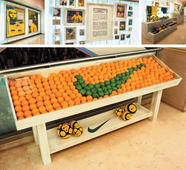 Retail experience Nike Brazil