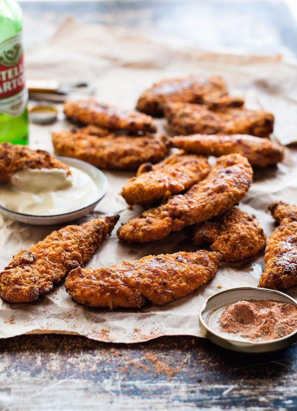 "KFC Oven Baked ""Fried"" Chicken Tenders"