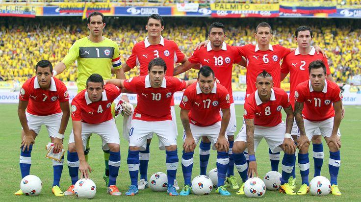 seleccion de futbol de chile - Buscar con Google