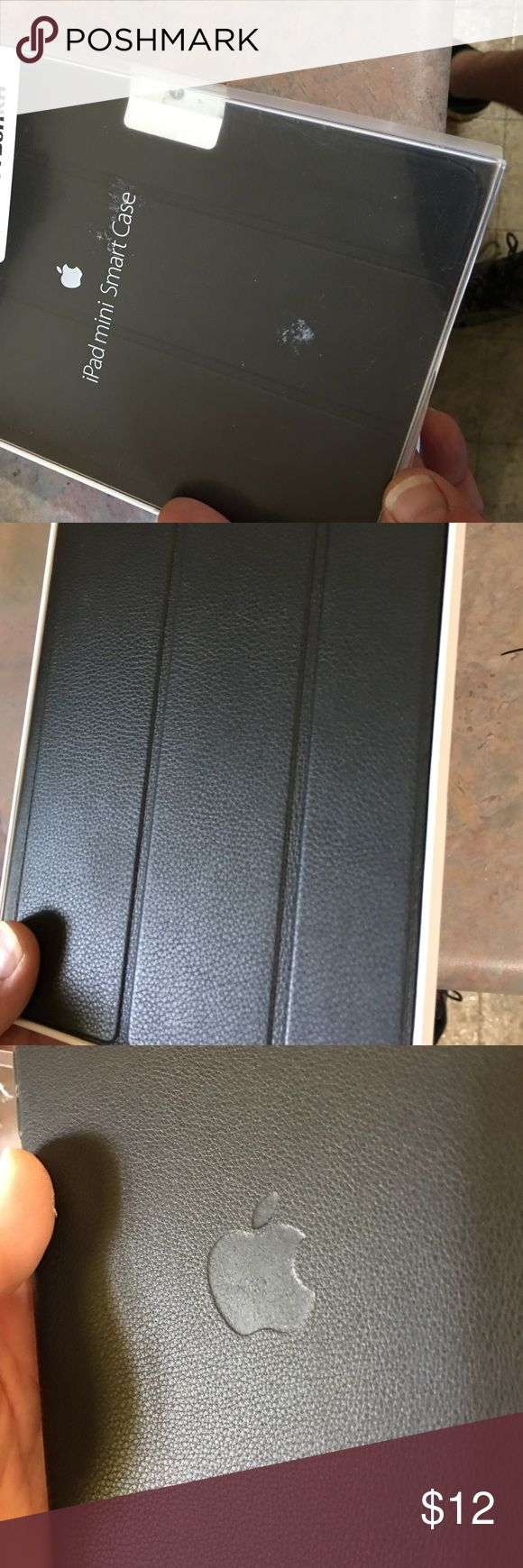 I Pad mini Smart Case New I Pad mini Smart Case. This is a Customer return that shows little to no wear. I will ship it next day. Thanks. Apple Accessories Laptop Cases