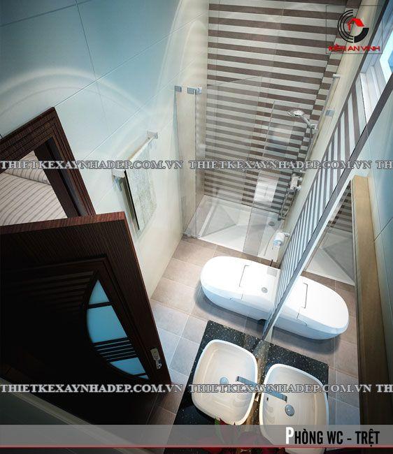Mẫu thiết kế nhà ống 1 tầng đơn giản diện tích 5x20m - Công Ty Chuyên Thiết Kế Biệt Thự - Thiết Kế Nhà Phố Đẹp