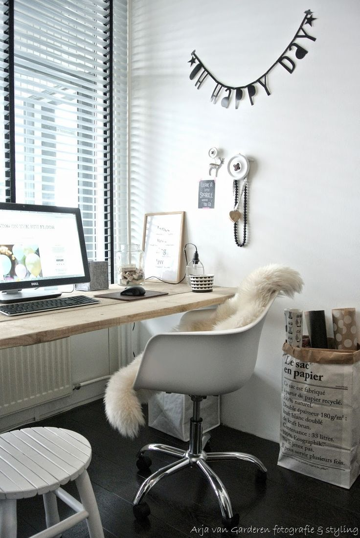 Cozy Home Office Desk Furniture. Unique Home Office Ideas On A ...