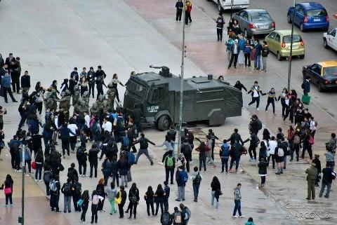Movimiento estudiantil en Chile, manifestaciones del 23-08-12