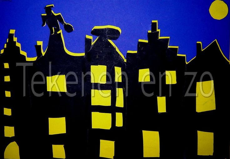 Sinterklaas skyline
