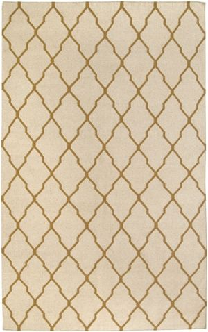 Rizzy - Rizzy Swing Sg2961 Beige-Gold Area Rug #101342