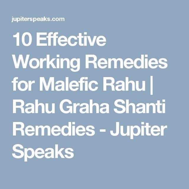10 Effective Working Remedies for Malefic Rahu Mahadasha   Rahu Graha Shanti Remedies - Jupiter Speaks