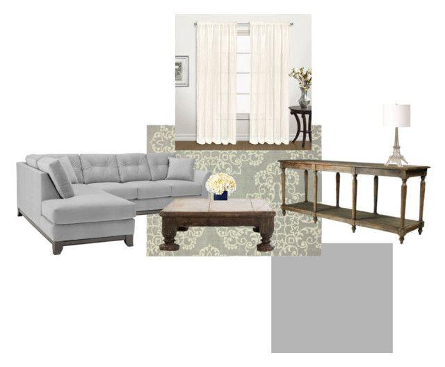 """Sin título #71"" by marivelagui on Polyvore featuring interior, interiors, interior design, hogar, home decor, interior decorating, nuLOOM, United Curtain y Renwil"
