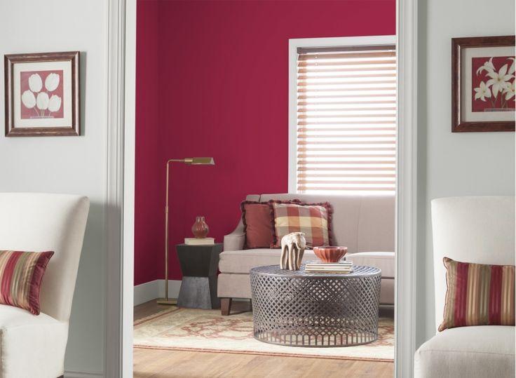 21 besten Wandfarbe beere Bilder auf Pinterest Dekoration - wohn und schlafzimmer in einem raum