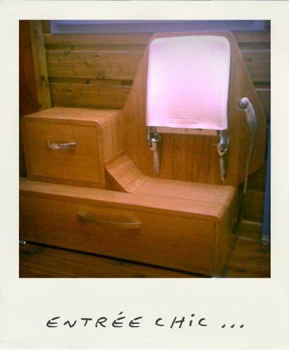 Chaise strapontin - Foldaway seat