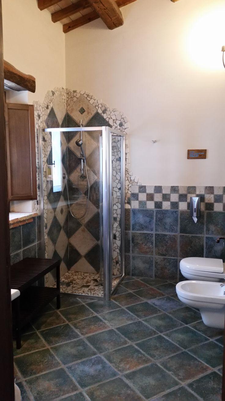 Bagno camera matrimoniale Piccola Volpe www.borgosanmartino.eu