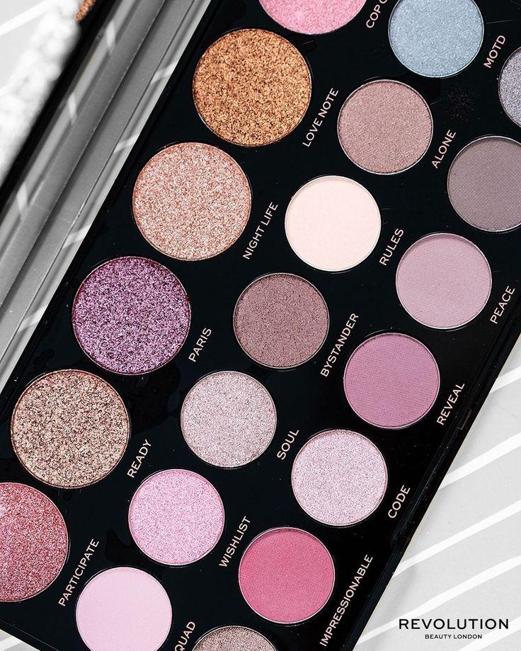 """Makeup Revolution Portugal auf Instagram: """"Eine elegante und perfekte Palette für …   – Cosmetics – New in Makeup"""
