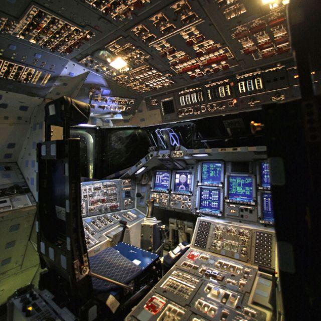 space shuttle cockpit bilder - photo #44