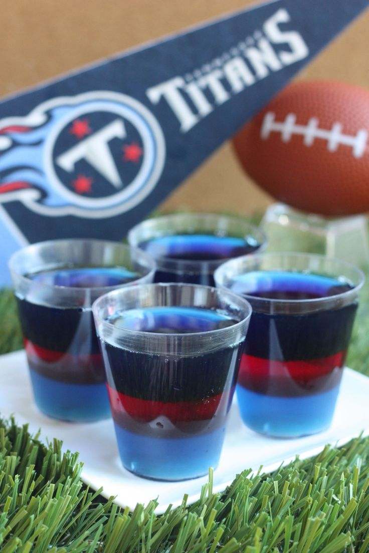 Tennessee Titans Jell-O Shots
