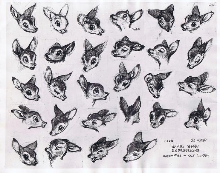 96 best Deer \ Moose (No squirrel) images on Pinterest Deer - character reference template uk