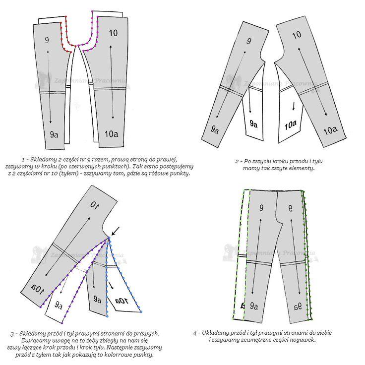 ZAPOMNIANA PRACOWNIA: Spodnie z moją pomocą