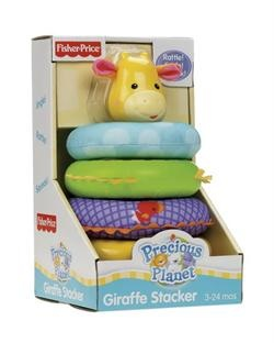 Fisher-Price, Giraf-pyramide med lyd.  http://nemmegaver.dk/shop/fisher-price-giraf-pyramide-2268p.html