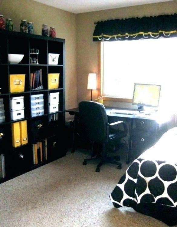 Ikea Small Bedroom Office Ideas Bedroom Ideas Ikea Office Small Smallofficeroomspareb Di 2020 Meja Kerja Meja