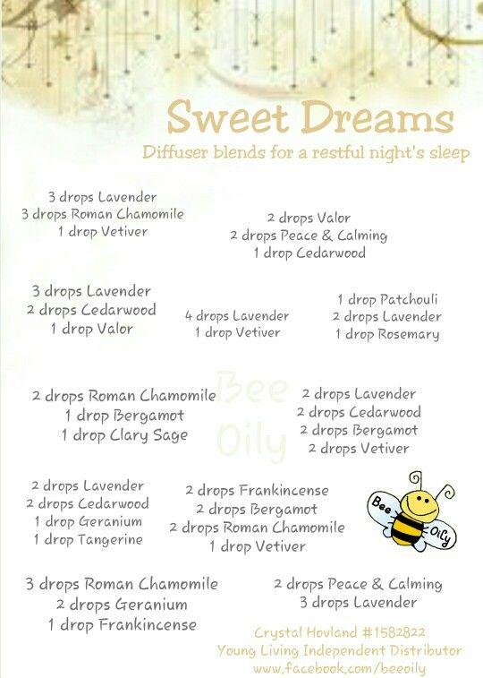 Sweet Dreams Diffuser Blends Eo Diffuser Blends