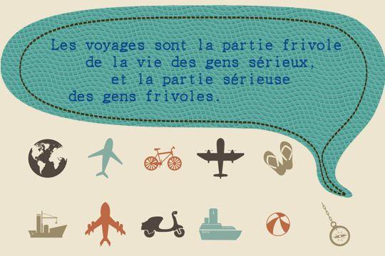 Les meilleures citations de voyage