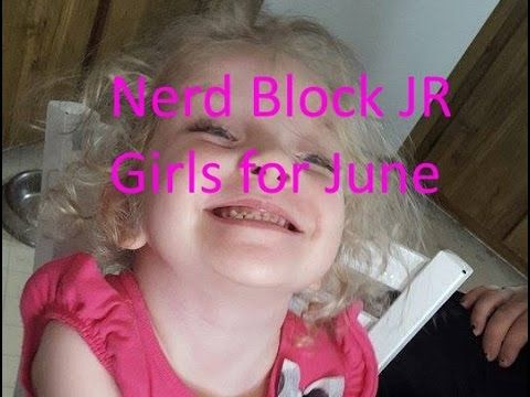Nerdblock JR. Girls With Lil Rose June