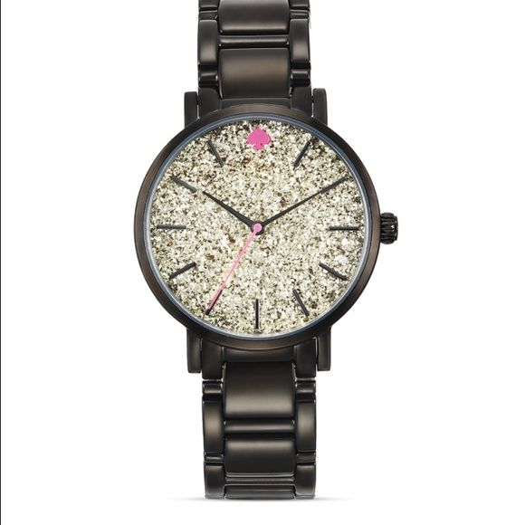 ISO!!! Kate spade black gramercy watch Has anybody ever actually seen this?!! I love it so much!! kate spade Accessories Watches