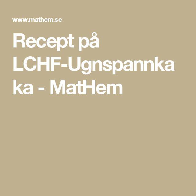 Recept på LCHF-Ugnspannkaka - MatHem