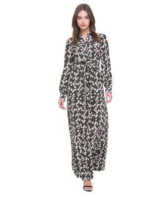 4640b07a555 Abbey Floral Silk Maxi Dress l  getjuicy