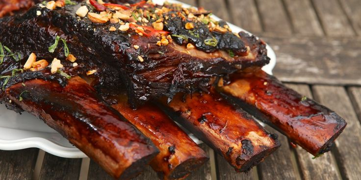 Barbecued Beef Short Ribs Recipe - Great British Chefs