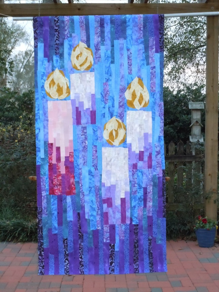 31 best Church wall hangings images on Pinterest | Glass ... : quilted church banners - Adamdwight.com