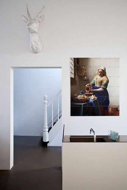 Schön 289 Besten Küchen Bilder Auf Pinterest Barhocker, Wohnen Und   Moderne  Kuchenwande Glas Gestalten