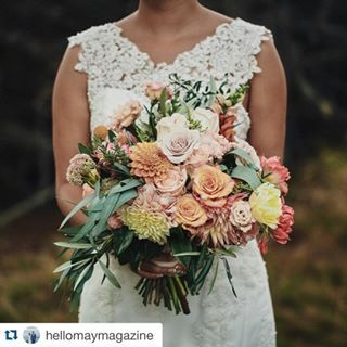 Over 1000 likes on this beautiful photo, featuring one of my brides on #hellomaymagazine. Head to their blog to check out the whole article & more photos of this dress