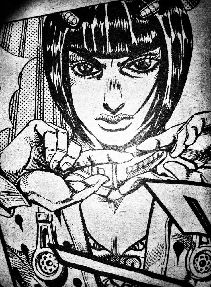 Bruno Buccellati Jojo's bizarre adventure Hirohiko Araki manga