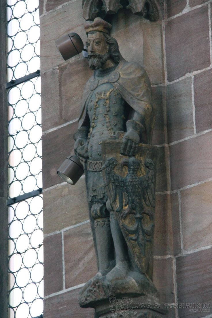 ca. 1360 - 'St. Wenceslaus', Nürnberg, Frauenkirche, Nürnberg, Bayern, Germany