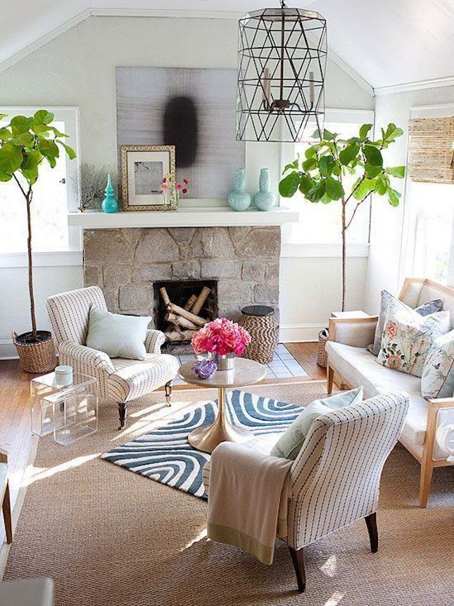 Get home decor inspiration from these layered rug looks.
