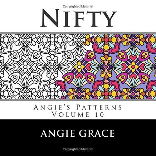 Pattern Artist Angie Grace Brings You 50 Peachy Cool Original Coloring Design Patterns Suitable For Adults And Older Children In This Volume Youll Find A