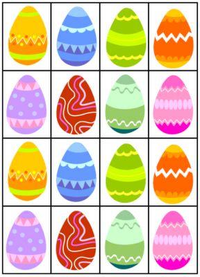 Passn- activiteiten memory met eieren