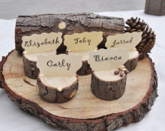 20 large place card holders, Wooden Place Name Holders, Rustic Wood Place Name Holders, wedding escort card holders, table number holders