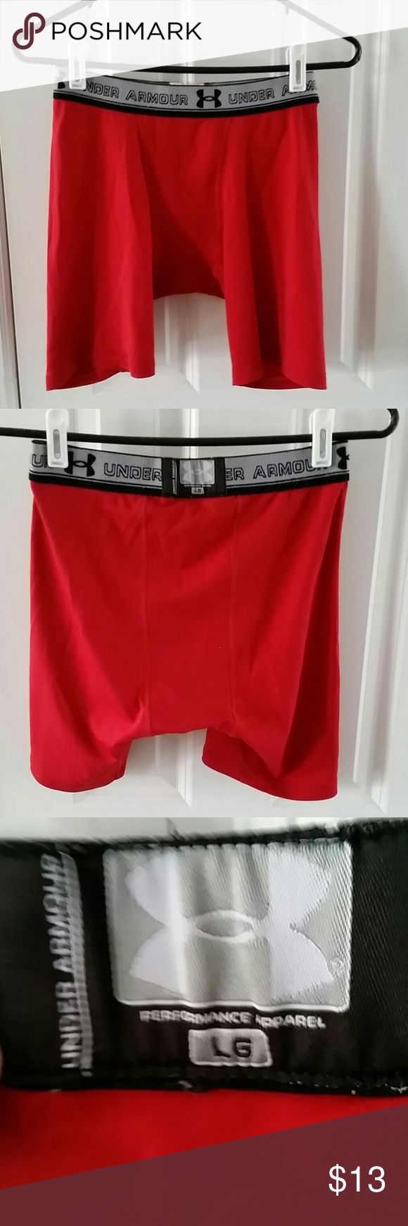 Under Armour men's  red shorts Under Armour short shorts Under Armour Shorts Athletic