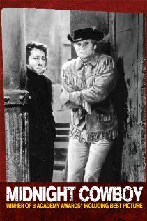 """Midnight Cowboy"" - 1969 - Dustin Hoffman and Jon Voight, Actors - Academy Award - Best Picture - Best Screen Play - Best Director John Schelesinger"
