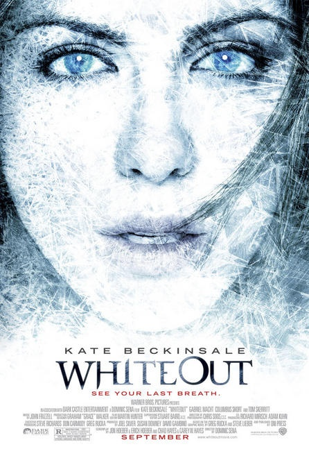 Whiteout: Movie Posters, Film, Whiteout 2009, Carrie Stetko, Kate Beckinsale, Watch, Stetko Tracks, Marshal Carrie, Movies I Ve