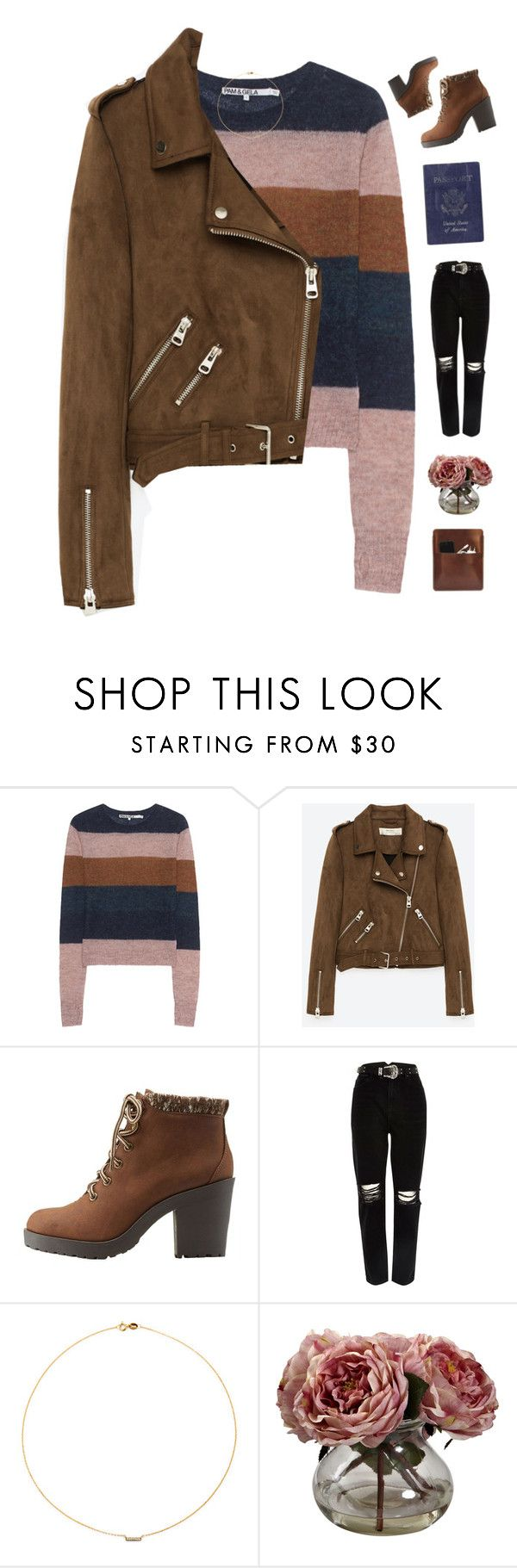 """Snowy days ☃️"" by genesis129 on Polyvore featuring Pam & Gela, Freebird, Charlotte Russe, River Island, Sole Society, Passport, Nearly Natural, Palila and vintage"