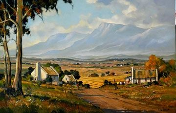 Misty Morning - Overberg by Dale Elliot | Dante Art Gallery
