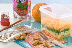 Layered Lunchtime Salad Recipe - Kraft Canada