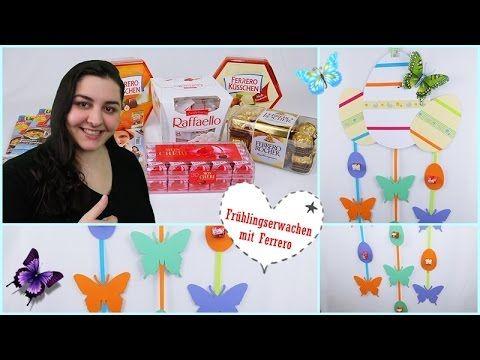 DIY/Ostern/Osterdeko Frühling Selber Basteln/Ostermobile/Ferrero/Lisa Fr...