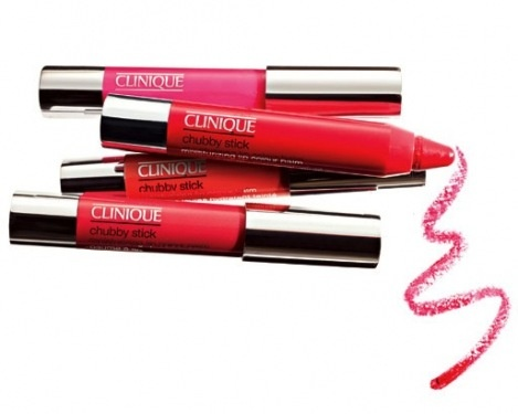 Clinique Chubby Sticks: half a pencil, half a lipstick. A new, easy way to enhance your lips.