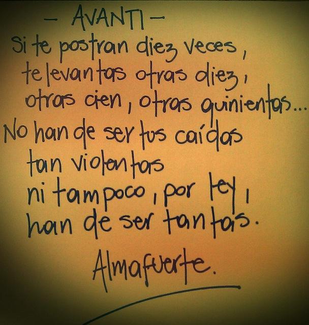 Avanti - Almafuerte - (ARG)