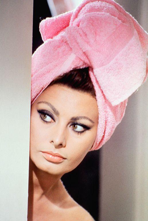 Sophia Loren in Stanley Donen's Arabesque (1966).