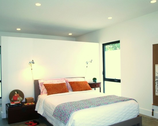 Bedroom Partition Walls : Best images about room divider headboard partial wall