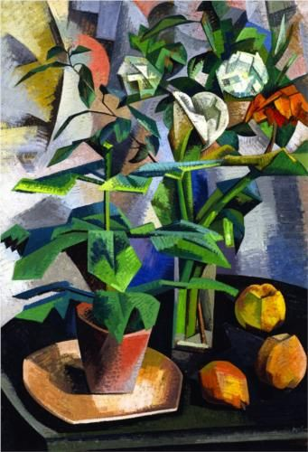 Auguste Herbin (French: 1882 – 1960)  | Cubism | Still LIfe